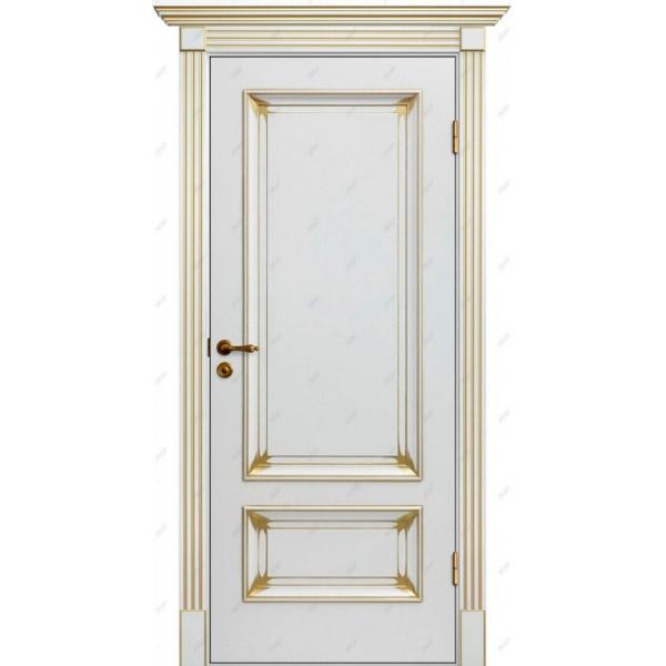 Межкомнатная дверь  Барокко 9 патина