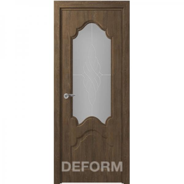 Межкомнатная дверь Тулуза ДO  серия DEFORM КЛАССИКА