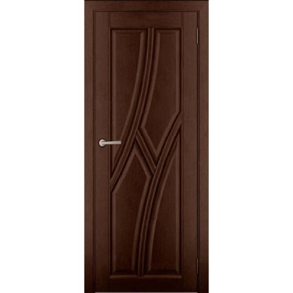 Дверь массив Ольхи Дорвуд  Клэр ДГ Орех