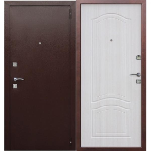 Входная металлическая дверь Доминанта белый ясень