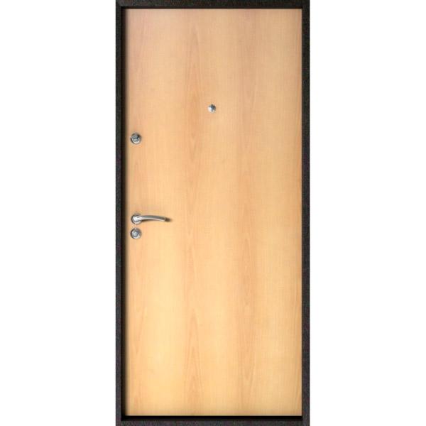Входные двери ОПТИМ МИЛАН ОРЕХ (Титан)