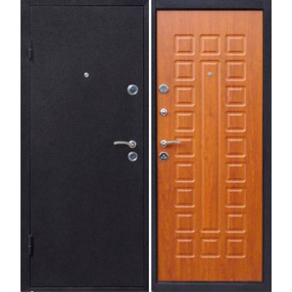 Дверь Йошкар с панелью Золотистый дуб