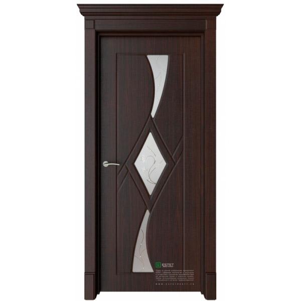 Межкомнатная дверь ESTET Кристалл