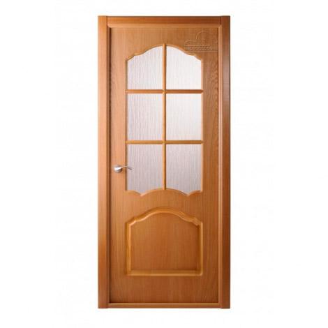 Дверь межкомнатная шпонированная Белвуддорс Каролина ДО Дуб