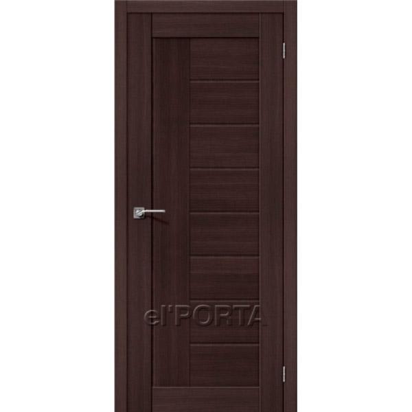 Дверь межкомнатная экошпон Эльпорта Порта 26 Wenge Veralinga Elporta Porta X