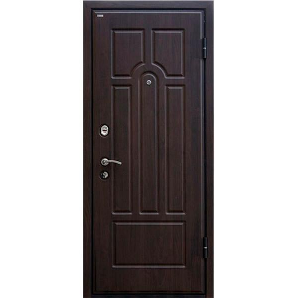 Дверь входная МеталЮр М5 (тёмный орех)