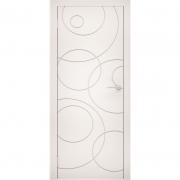 Дверь межкомнатная эмаль В-05 ДГ Графит Коллекция Lite