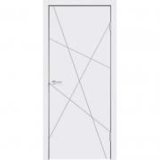 Дверь межкомнатная эмаль В-13 ДГ Белая
