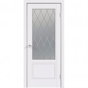 Дверь межкомнатная эмаль В-15 ДО Белая