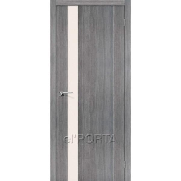 Дверь межкомнатная экошпон Эльпорта ПОРТА-11 Grey Veralinga Elporta Porta X