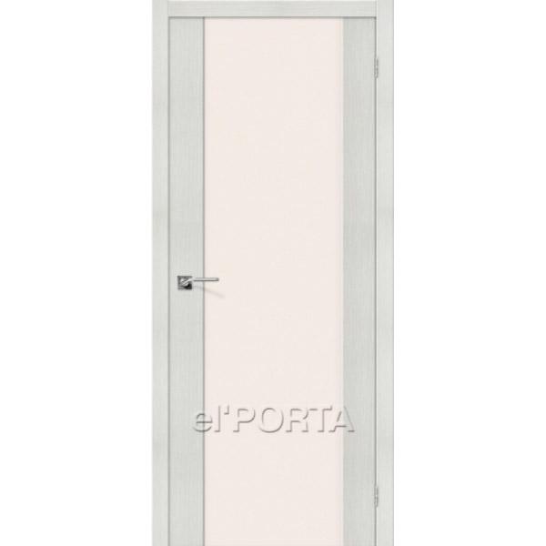 Дверь межкомнатная экошпон Эльпорта ПОРТА-13 Bianco Veralinga Elporta Porta X