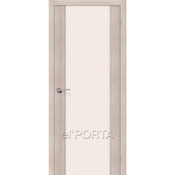 Дверь межкомнатная экошпон Эльпорта ПОРТА-13 Cappuccino Veralinga Elporta Porta X