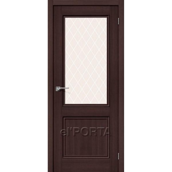Дверь межкомнатная экошпон Эльпорта ПОРТА-63 Wenge Veralinga Elporta Porta X