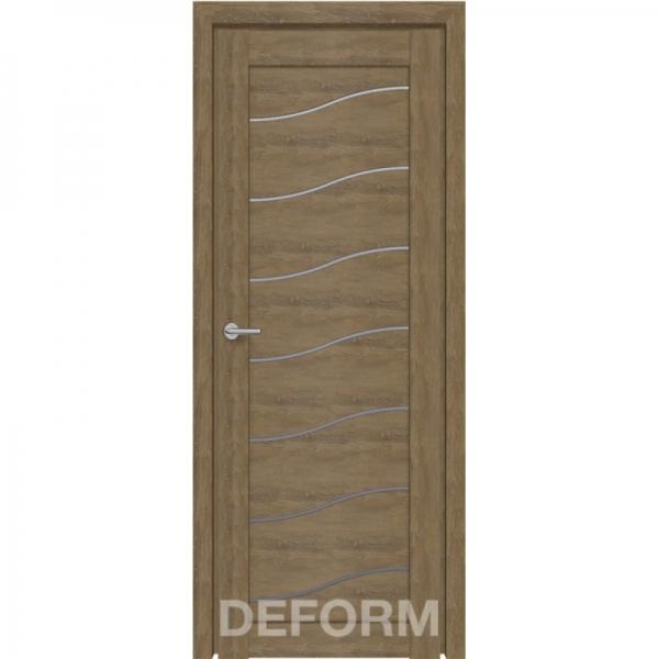 Межкомнатная дверь D2 DEFORM ДО