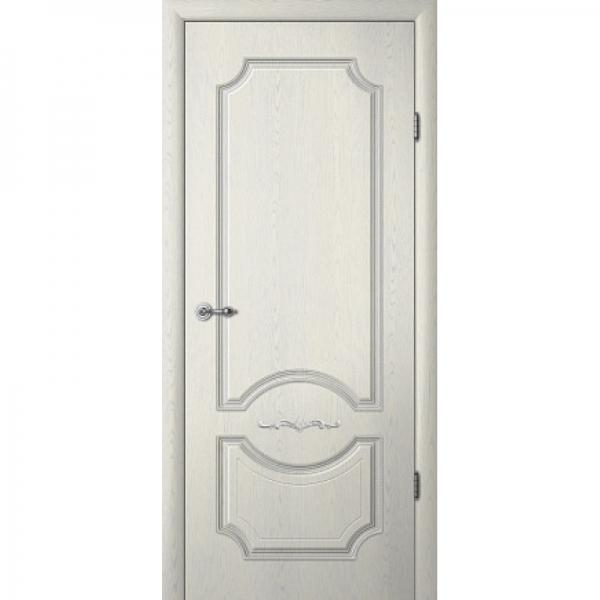 Межкомнатная дверь  Леонардо ПГ с патиной