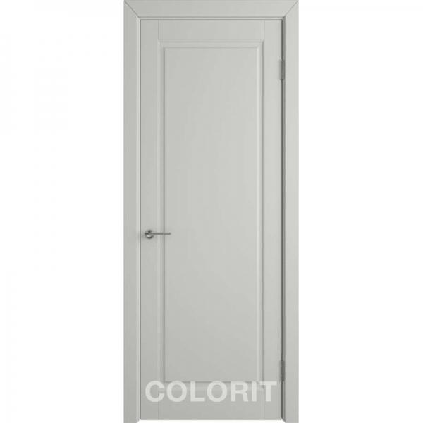 К3 COLORIT ДГ 800*2000 Светло-серая эмаль