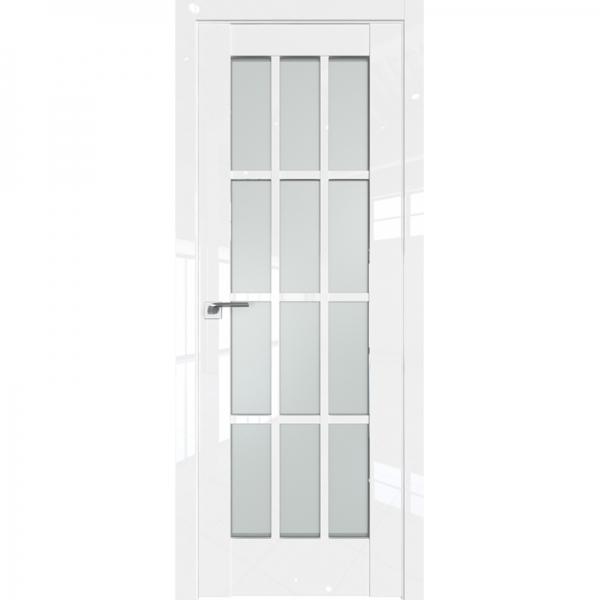 102L матовое 800*2000 Белый люкс