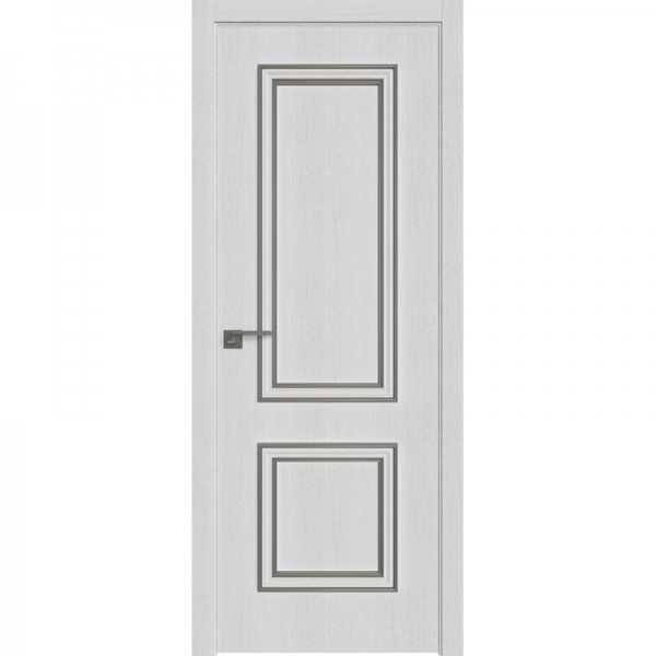 52ZN 800*2000 Монблан кромка ABS в цвет Багет внеш. серебро глянец БЕЗ ЗПП БЕЗ ЗПЗ