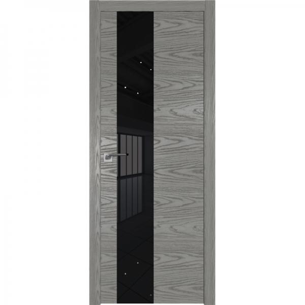 5NK (ABS) коричневый лак 800*2000 Дуб Скай Беленый кромка в цвет
