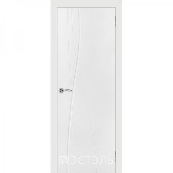 Граффити1 ДГ 800*2000 Белая эмаль