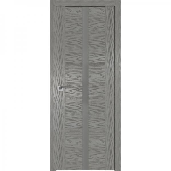 2.04N серебряный матовый лак 800*2000 Дуб Скай Деним