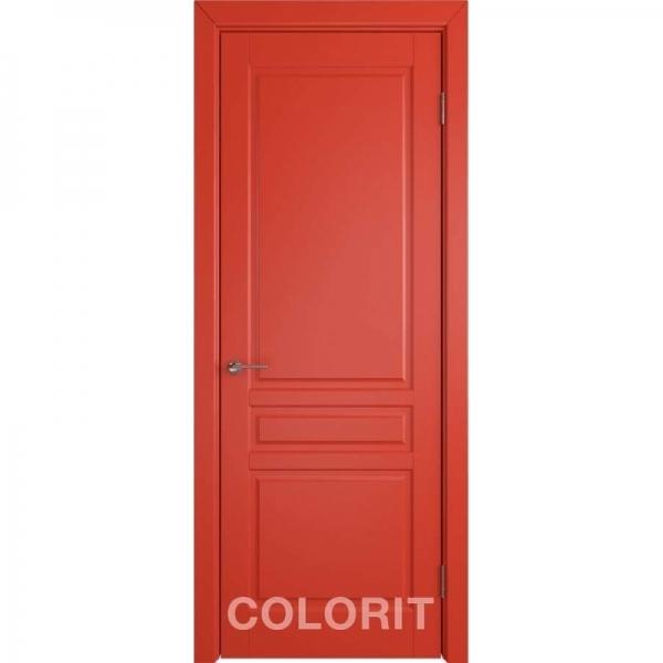 К2 COLORIT ДГ 800*2000 Красная эмаль