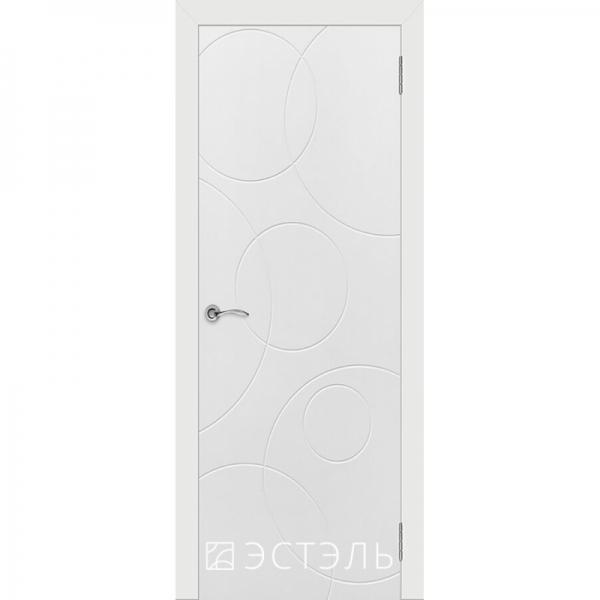 Граффити4 ДГ 800*2000 Белая эмаль