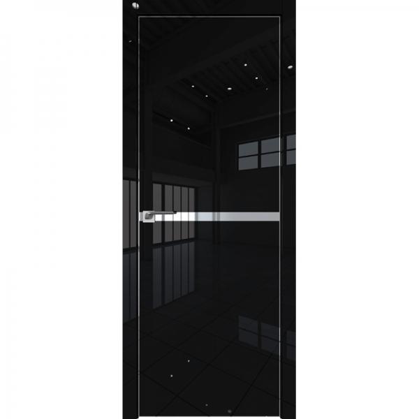 11VG FG3 800*2000 Черный глянец хром с 4-х сторон L
