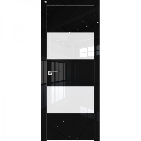 10VG белый лак 800*2000 Черный глянец хром с 4-х сторон зпп Eclipse зпз 190