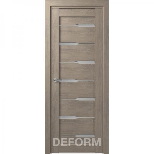 D4 DEFORM ДО белый лак 800*2000 Дуб шале графит