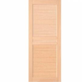 Межкомнатные двери МДФ, «Ладора» экошпон серия «Квадро 2/8» Дуб светлый