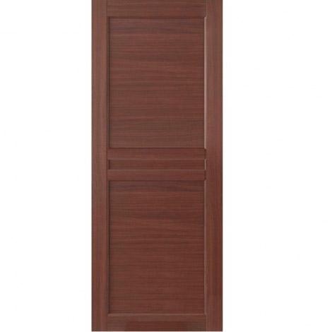 Межкомнатные двери МДФ, «Ладора» экошпон серия «Квадро 2/8» Дуб темный