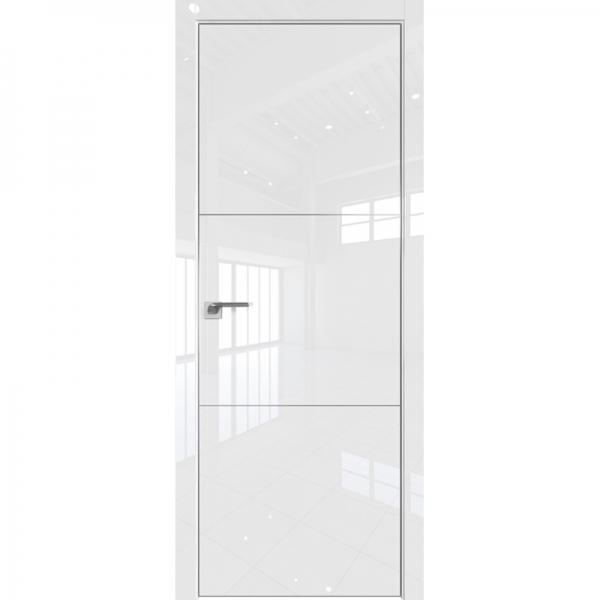 44VG 800*2000 Белый глянец матовая с 4-х сторон БЕЗ ЗПП БЕЗ ЗПЗ