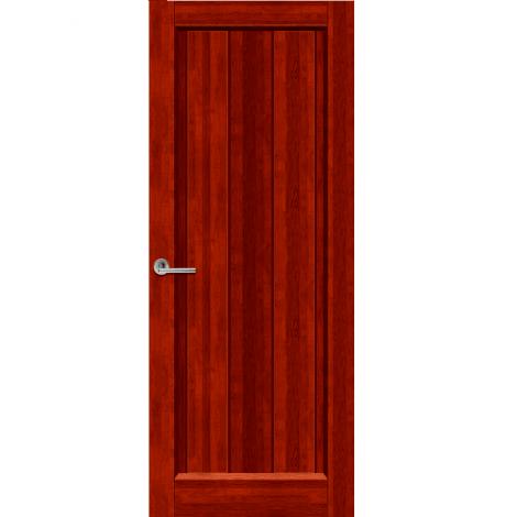Межкомнатная дверь из массива ольхи Версаль ДГ Махагон