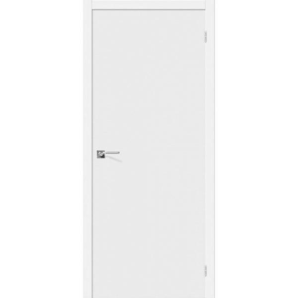 Дверь межкомнатная Эльпорта Скинни-10 Whitey Skinny