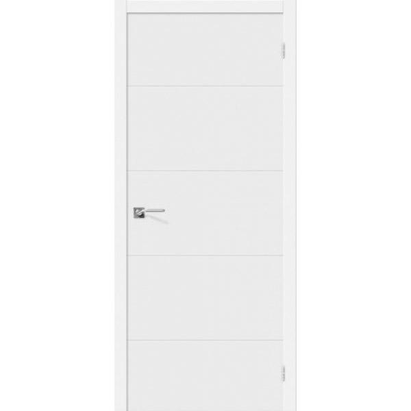 Дверь межкомнатная Эльпорта Скинни-2 Whitey Skinny