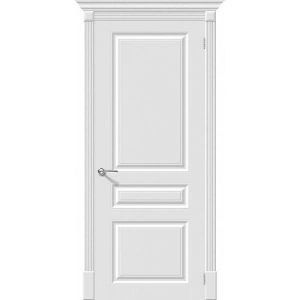 Дверь межкомнатная Эльпорта Скинни-14 Whitey Skinny
