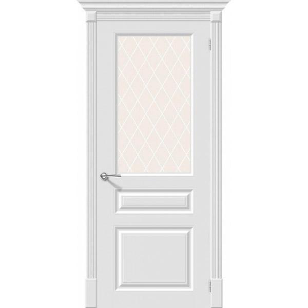 Дверь межкомнатная Эльпорта Скинни-15.1 Whitey Skinny