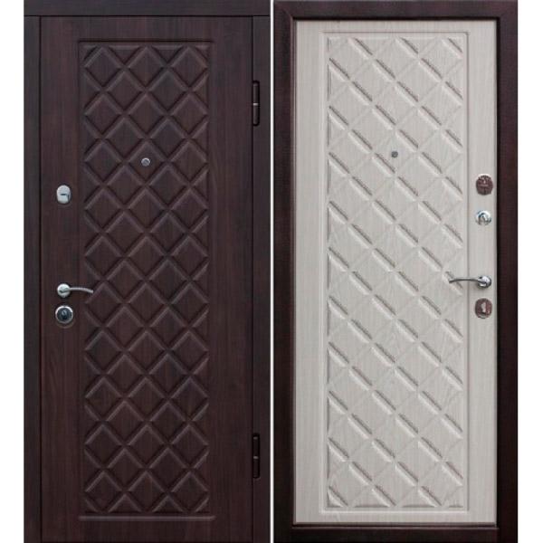 Входная металлическая дверь Камелот белёный дуб