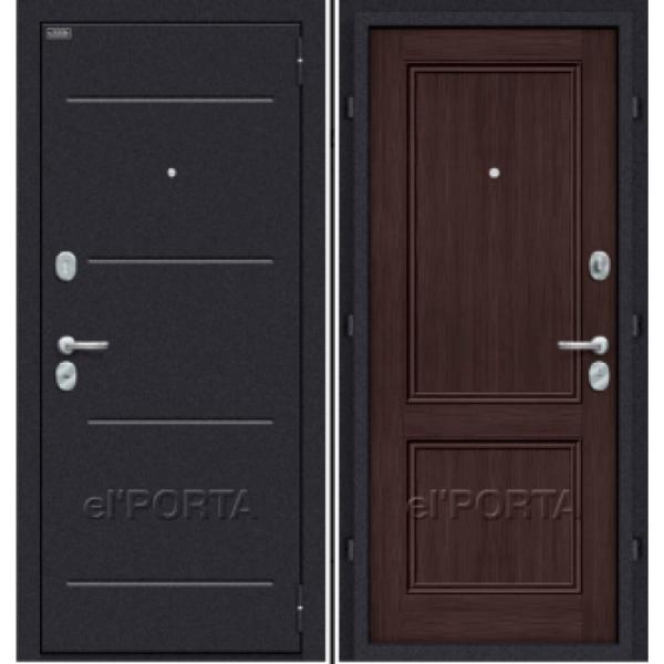 Дверь входная КЛАСС Wenge Veralinga
