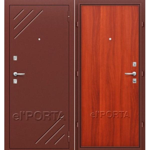 Дверь входная СТАНДАРТ Л-11 Итальянский Орех