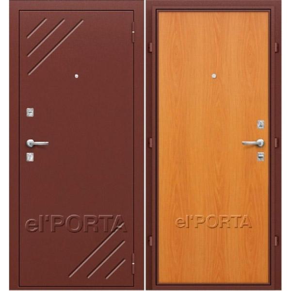 Дверь входная СТАНДАРТ Л-12 Миланский Орех