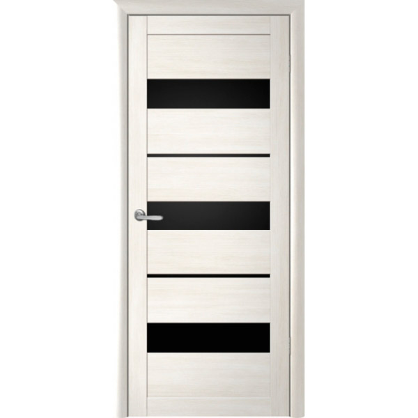 Межкомнатная дверь экошпон Albero Прага кипарис белый
