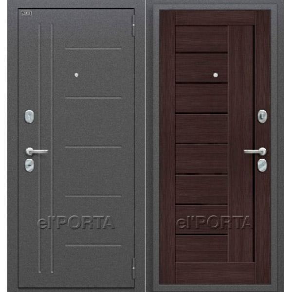 Дверь входная ПРОФ Wenge Veralinga