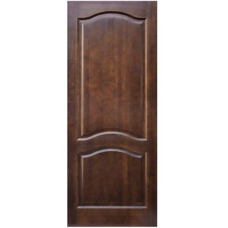 Межкомнатная дверь из массива сосны ПМЦ ДГ М7 Тёмный лак