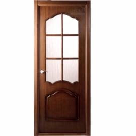 Дверь межкомнатная шпонированная Белвуддорс Каролина ДО Орех