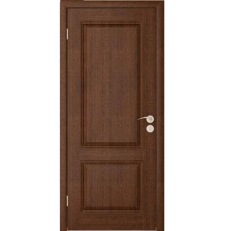 Межкомнатная дверь шпонированная Шервуд 2 ДГ, Каштан