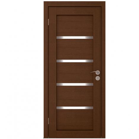 Межкомнатная дверь шпонированная  Квартет ЧО Каштан