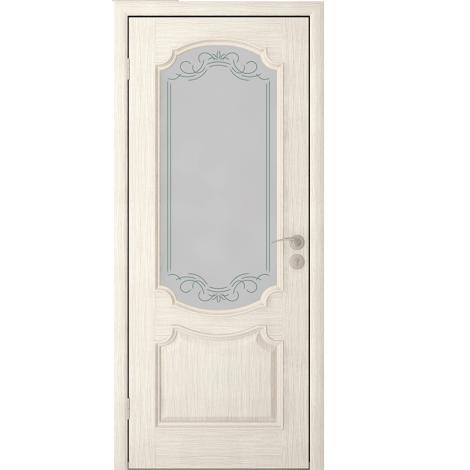 Межкомнатная дверь шпонированная Престиж ДО Слоновая кость