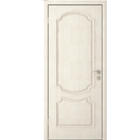 Межкомнатная дверь шпонированная Престиж ДГ Слоновая кость